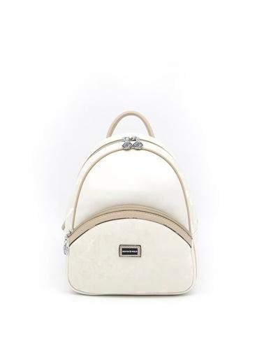 Silver Polo Sırt Çantası Beyaz